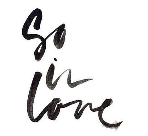 So inlove | One Two Three Word Quote | Calligraphy, Three word