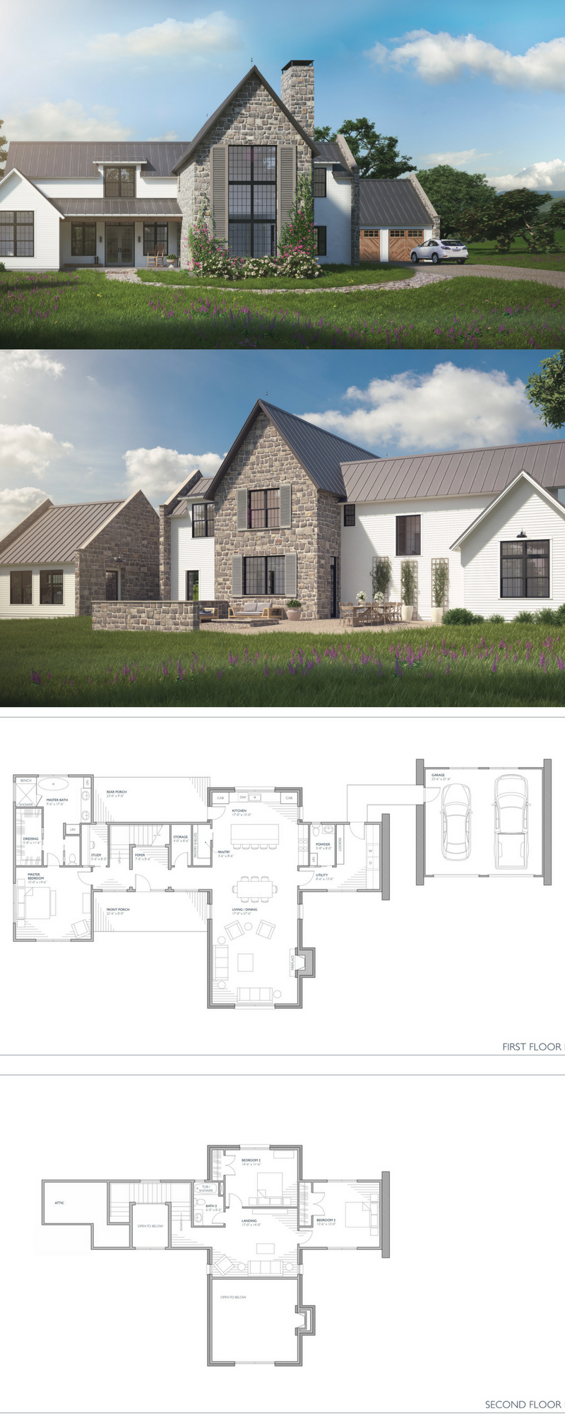 Maison Provincial A Fresh Take On The Traditional European Farmhouse Style Country House Plans Modern House Plans House Designs Exterior