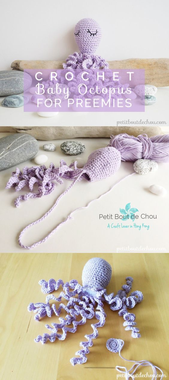 Have you already heard about these little crochet octopus for ...