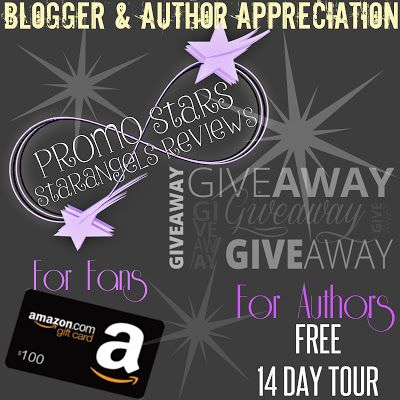 Blogger & Author Appreciation Giveaway ~ Promo Stars ~  Starangels Reviews
