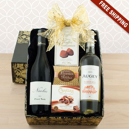 Halloween wine gift baskets