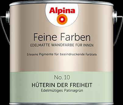 Bestellen Sie kostenlos Farb-Muster von Alpina Feine Farben und ...