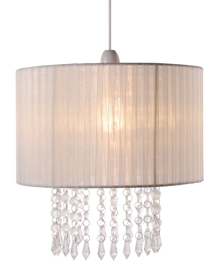 Good Buy Grazia Voile Droplets Shade   Cream At Argos.co.uk   Your Online · Ceiling  Lamp ...
