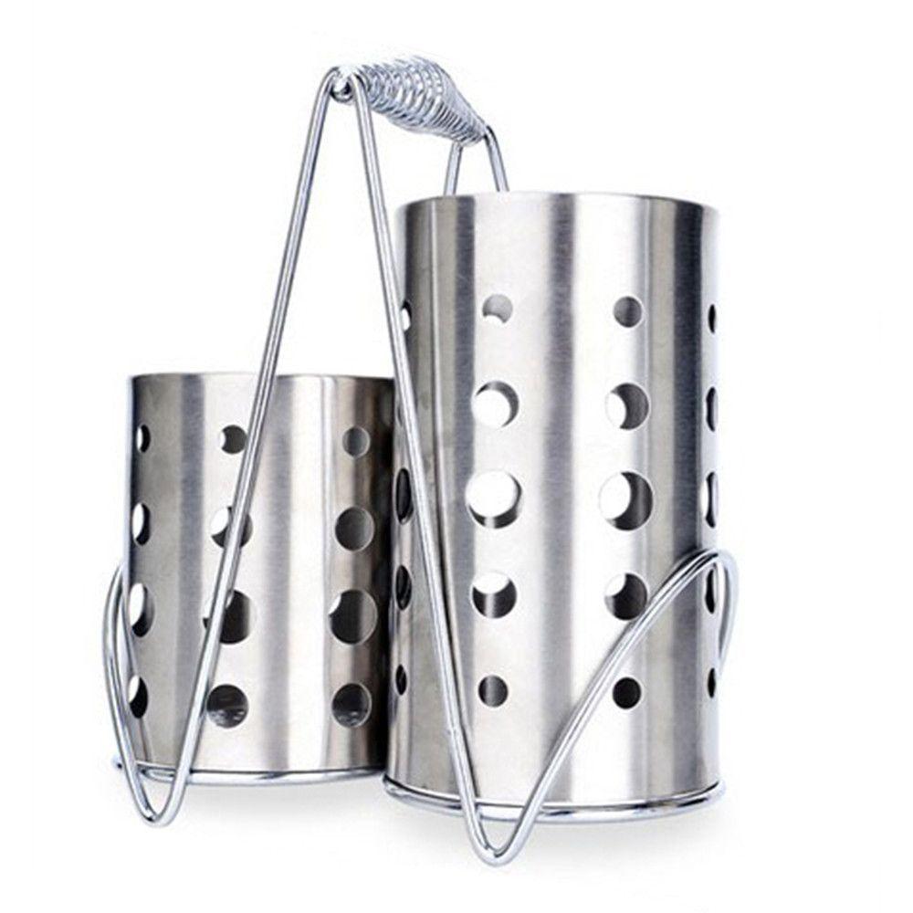 Tableware Holder Stainless Steel Chopsticks Rest Kitchen Gadgets Cutlery Shelfs