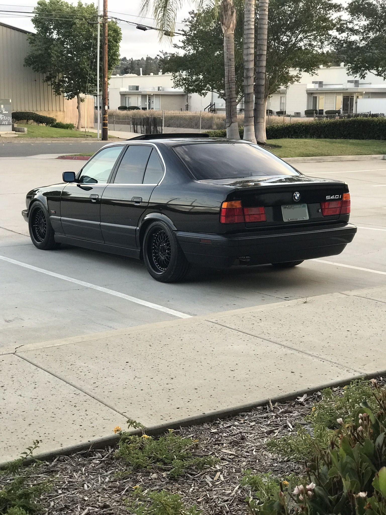 E34 540i Bbs Black Style 5s Bmw E34 Bmw 5 Series Vw Polo Gti