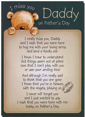 fathers day in heaven from daughter | Grave Card / Loving Mem Fathers Day - FREE Holder-F9378 | eBay