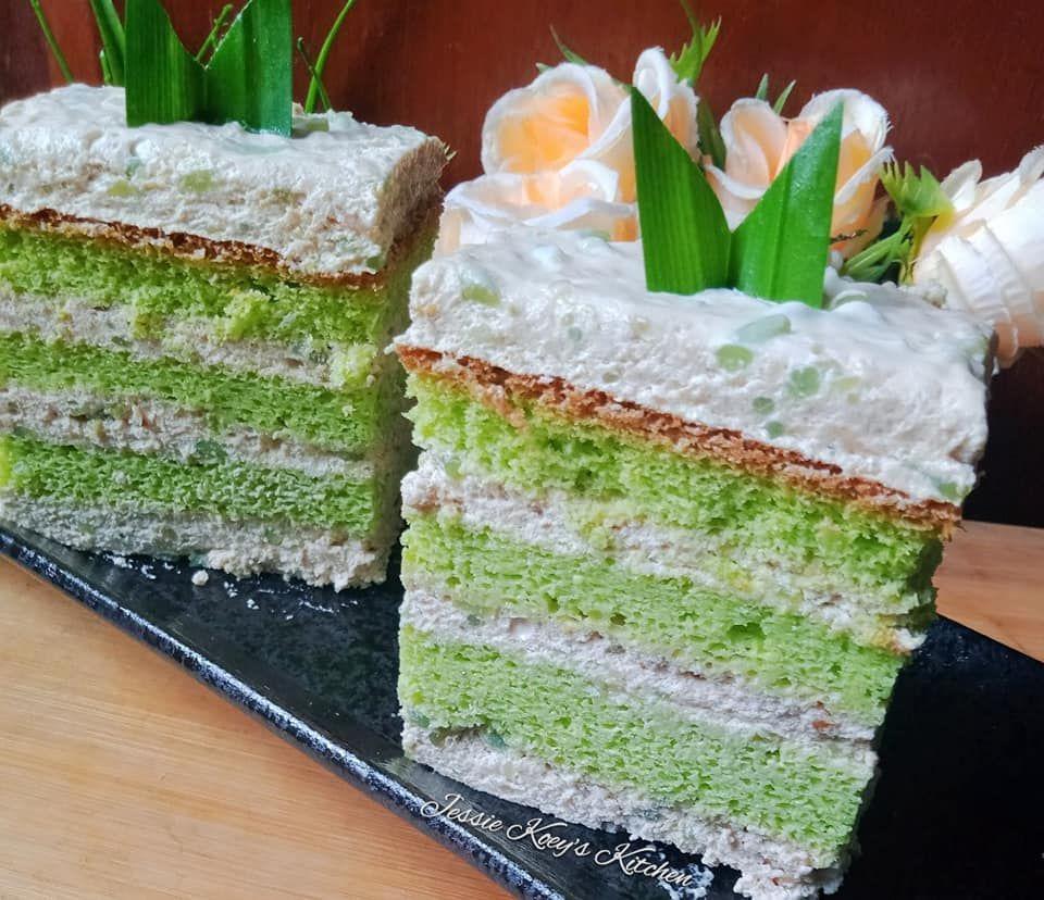 Pudding Cake Cendol Kue Lezat Makanan Resep Kue