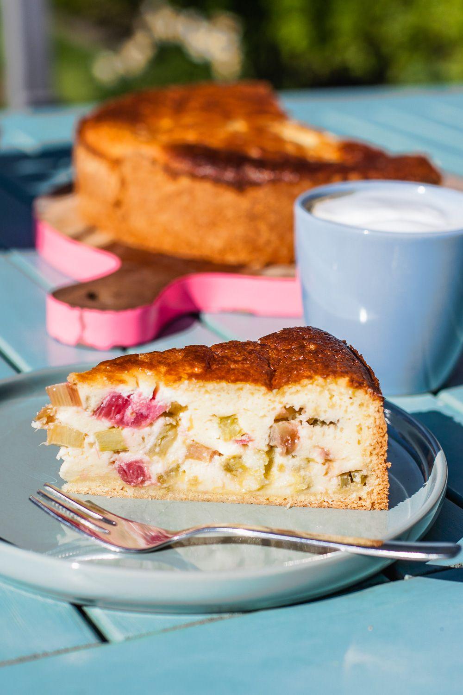 Rhabarberkuchen wie in Nielsens Kaffeegarten | tastesheriff