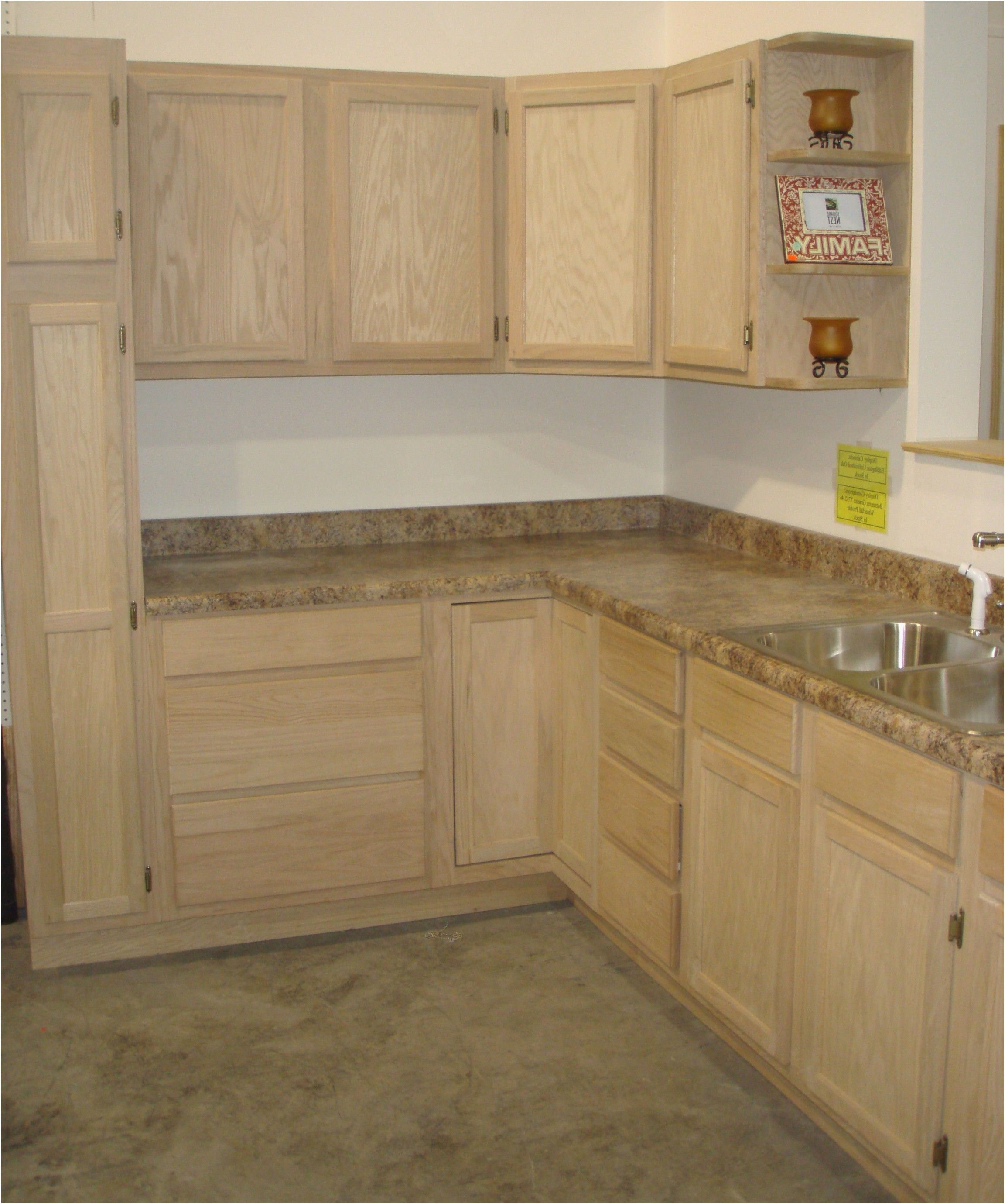 9 Best Of Unfinished Discount Kitchen Cabinets Collection En 2020