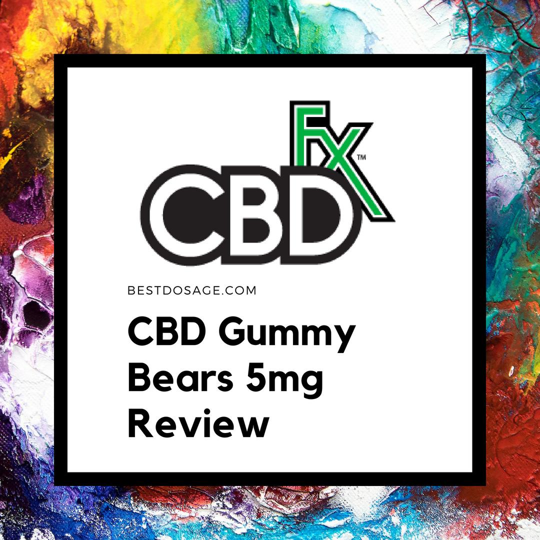 CBDfx Gummies Review: Flavor, Dosage, Effect, Price