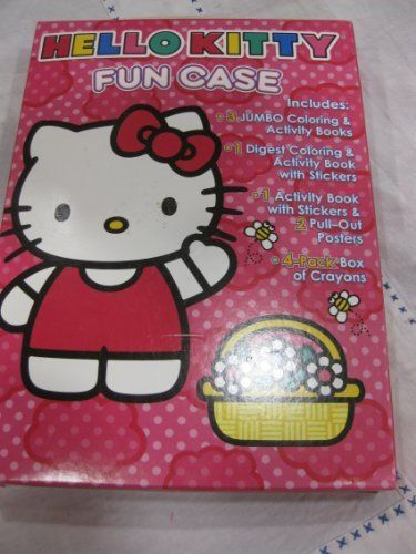 Hello Kitty Jumbo Coloring Book Photos