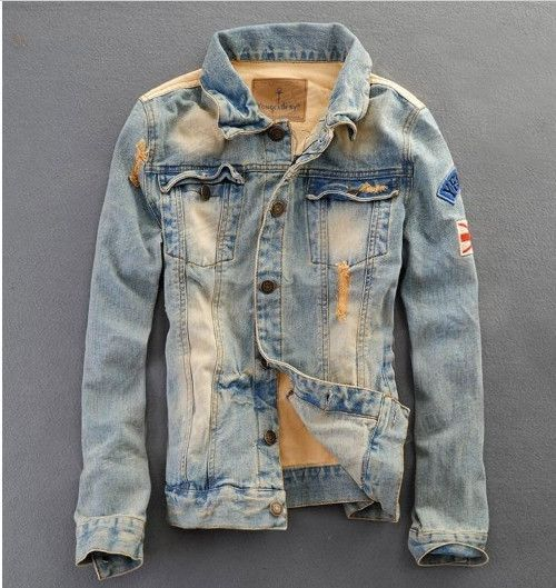 Men's Retro Style Denim Jacket | Retro style, Denim jackets and Retro