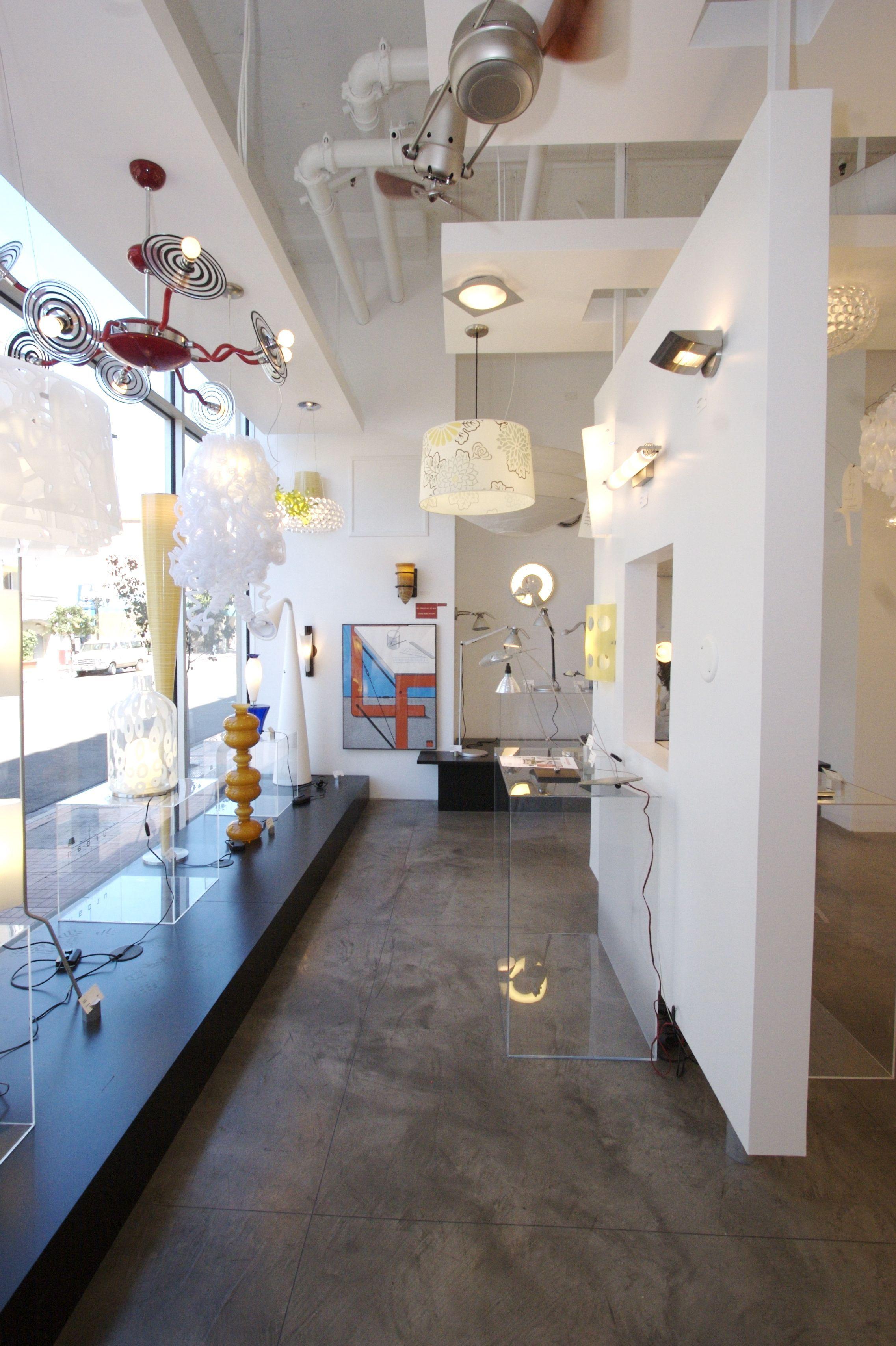 Urban Lighting Showroom Image. | Lighting showroom ...