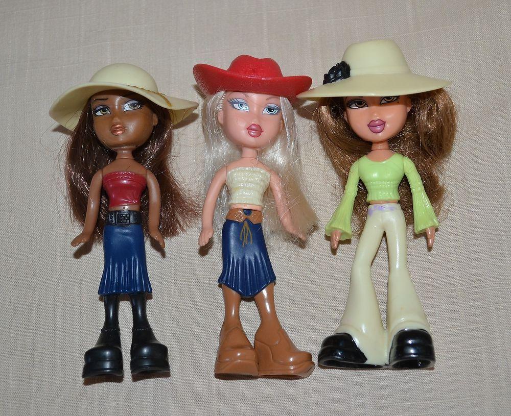 2 Sets Bratz  Doll Figure Toy Yasmin And Sasha