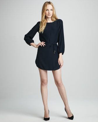 Olivia Tie-Waist Dress at CUSP.