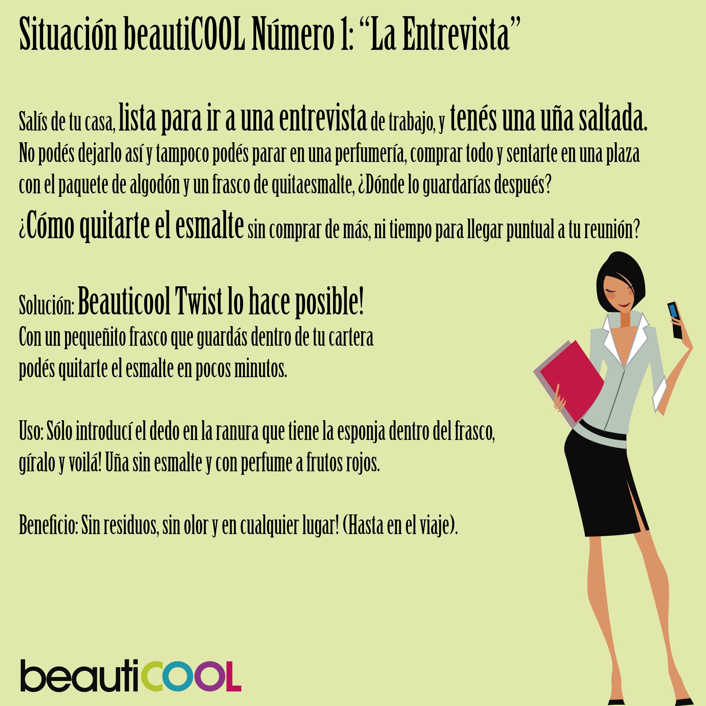 """Situación Beauticool 1: """"La Entrevista"""""""