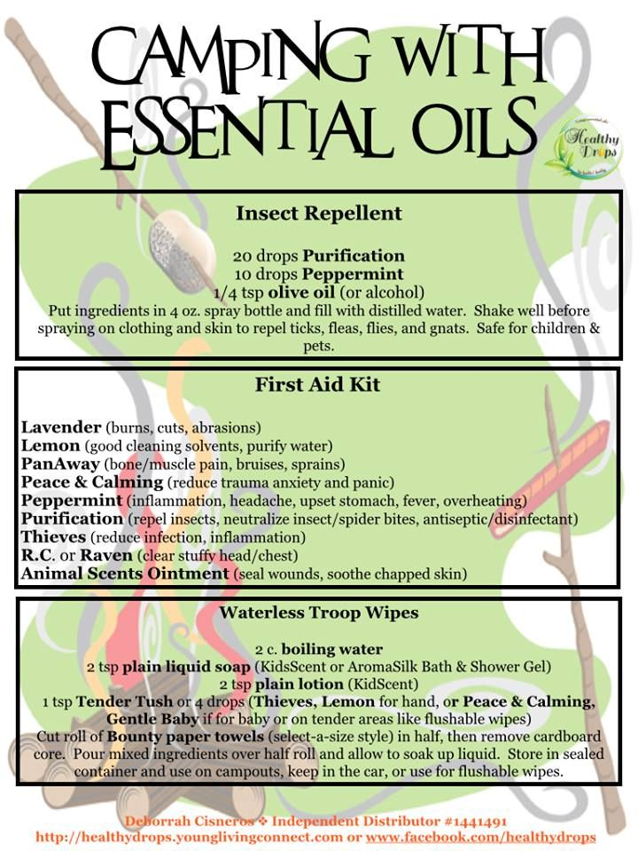 essential oil mosquito repellent pdf