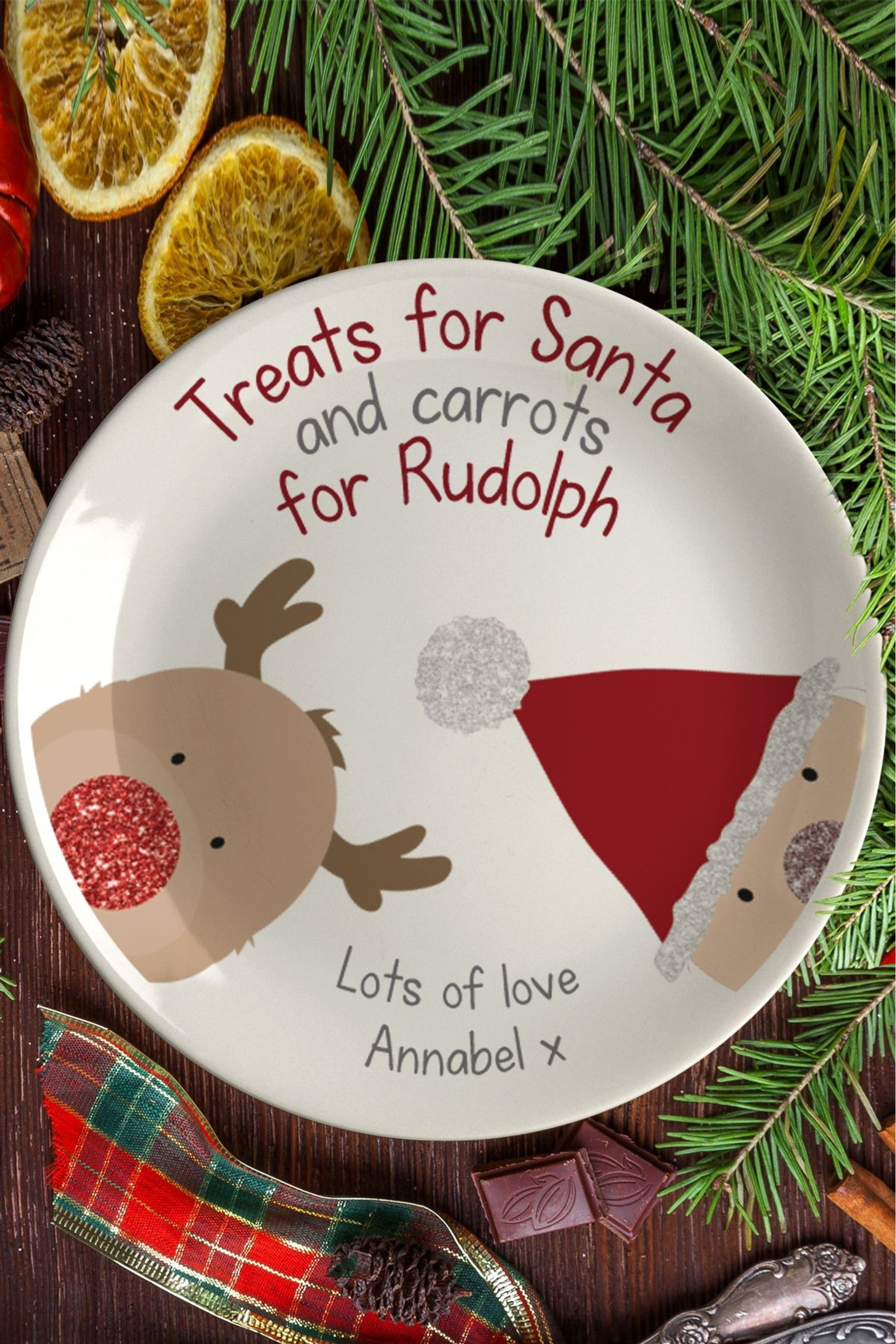 Eve Online Christmas 2020 Buy Personalised Santa Christmas Eve Plate by Signature PG from