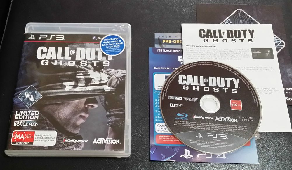 Call of duty ghost Sony PlayStation 3 -  PS3 - FREE Postage