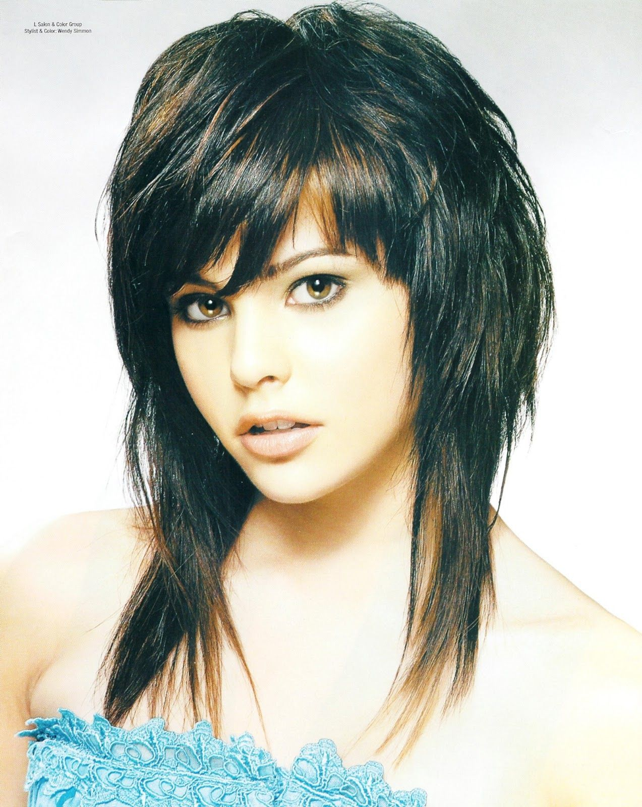 Layered Haircuts Short On Top Long Bottom Hair Medium Hair Styles Medium Length Hair Styles Long Shag Hairstyles