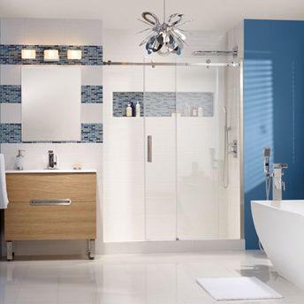 carreaux de céramique pour mur ou plancher | rona | design salle ... - Salle De Bain Ceramique Photo