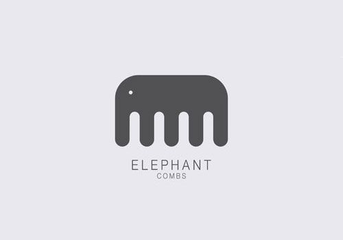 Elephant Combs logo, by TBWA #combs