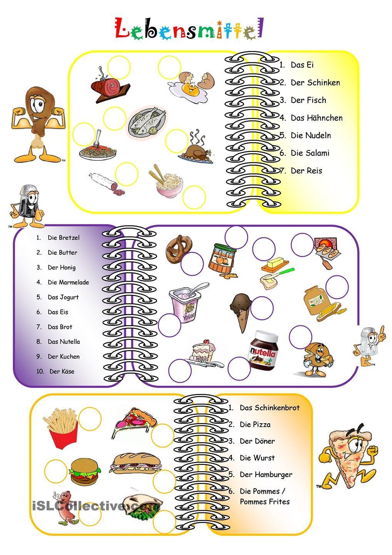 Lebensmittel | Teaching ideas | Pinterest | Essen, Teaching ideas ...