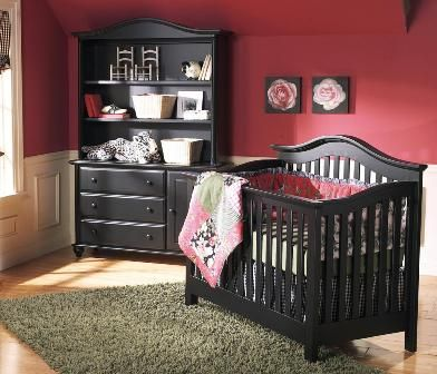 black cribs - Google Search | Baby room ideas | Pinterest | Para el ...