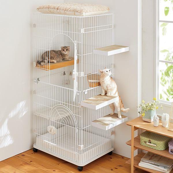 ケージ用ステップ ペット用品の通販サイト ペピイ Peppy 猫用ケージ 猫の屋外ケージ 猫 ケージ 手作り