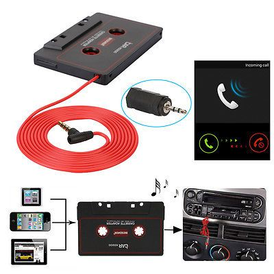 3.5mm & 2.5mm aux car #audio cassette tape #adapter for iphone mp3 cd #player mic,  View more on the LINK: http://www.zeppy.io/product/gb/2/181788955188/