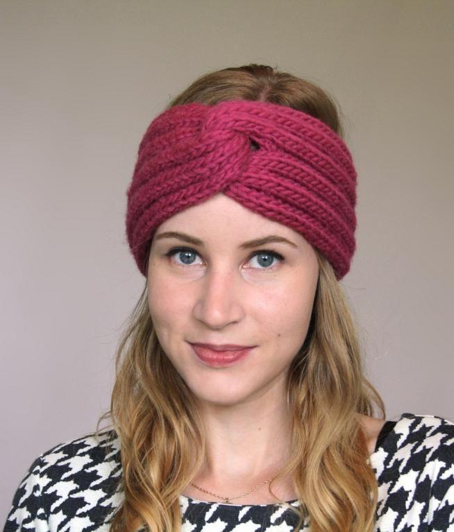 Francine Headband Headband Pattern Knit Headband Pattern And