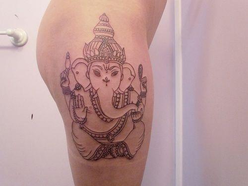 Ganesha Tumblr Tattoo