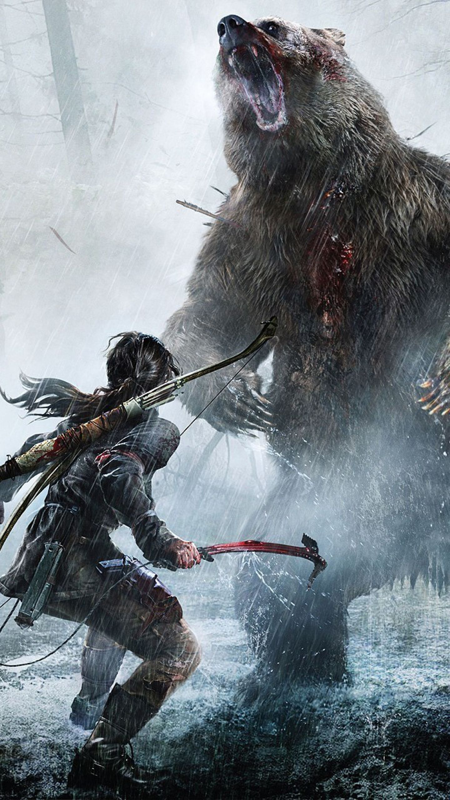 Rise Of The Tomb Raider Android Wallpapers Mobile Is 4k Wallpaper