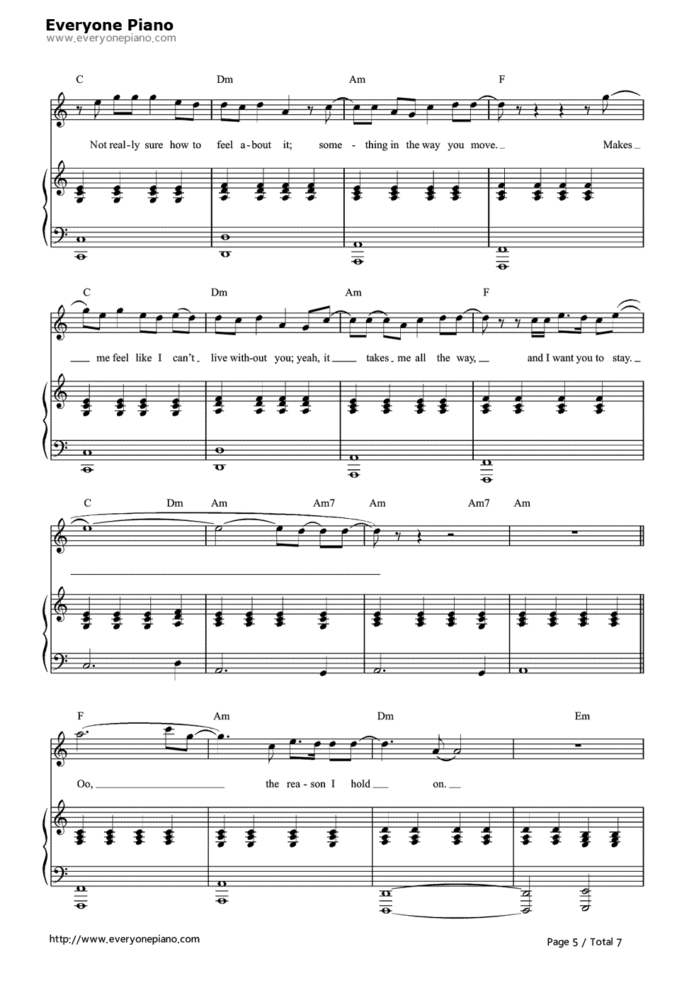 Free stay rihanna and mikky ekko sheet music preview 5 page 5 free stay rihanna and mikky ekko sheet music preview 5 page 5 hexwebz Choice Image