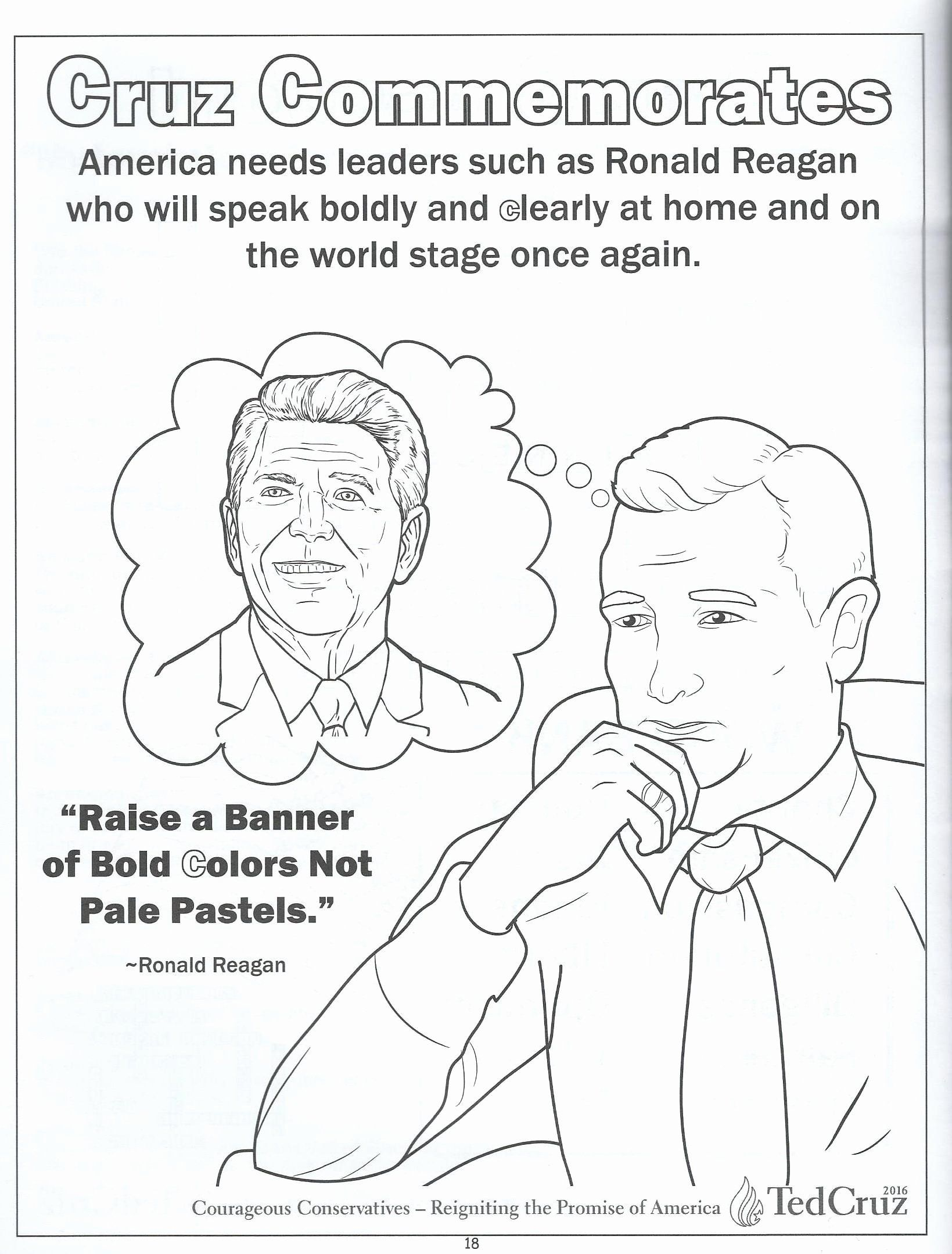 Ted Cruz Coloring Book Lovely We Review Ted Cruz S Ridiculous Children S Coloring Book Coloring Books Cat Coloring Book Kids Coloring Books