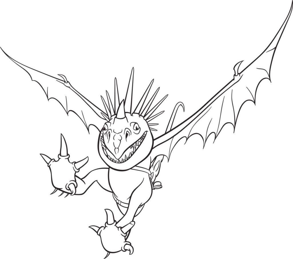 Dragons Ausmalbilder