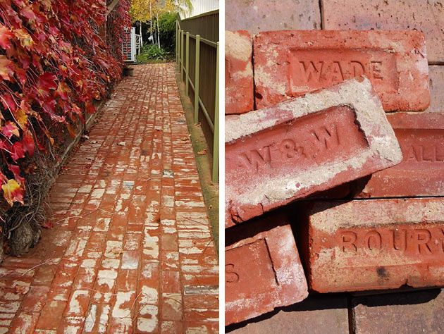 Recycled Brick Paving Old Red Bricks Company Adelaide