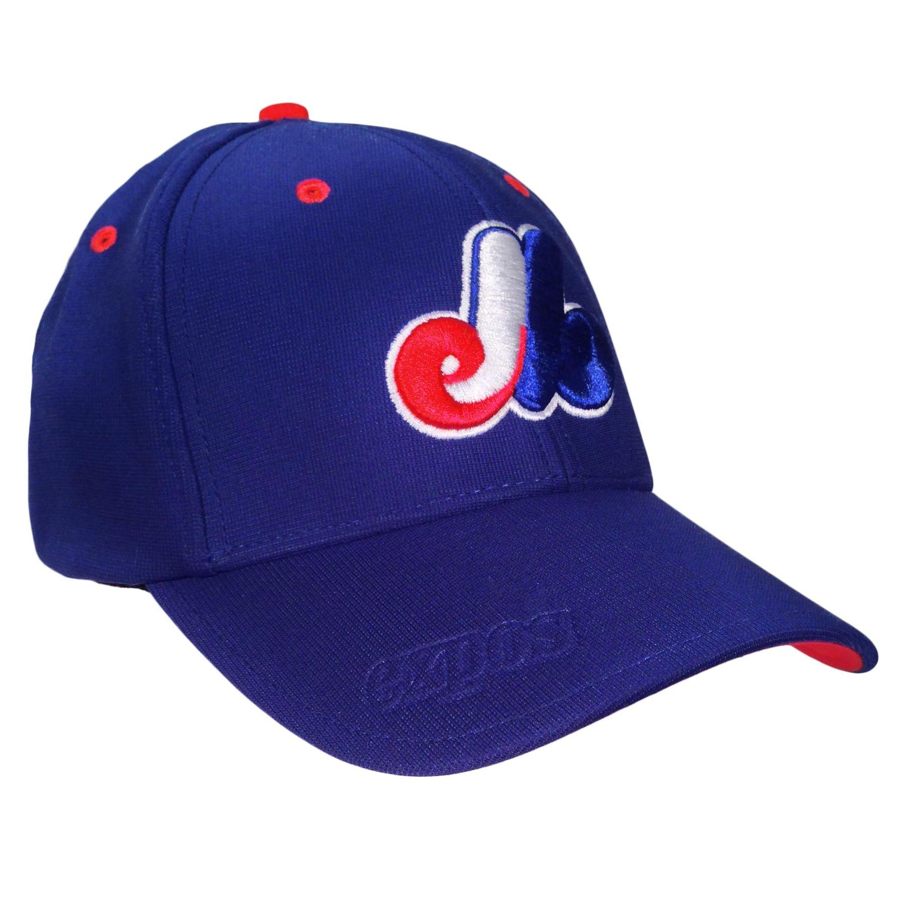 d9a9d7a879c94 Montreal Expos Big Boss Stretch Fit Cap (royal)
