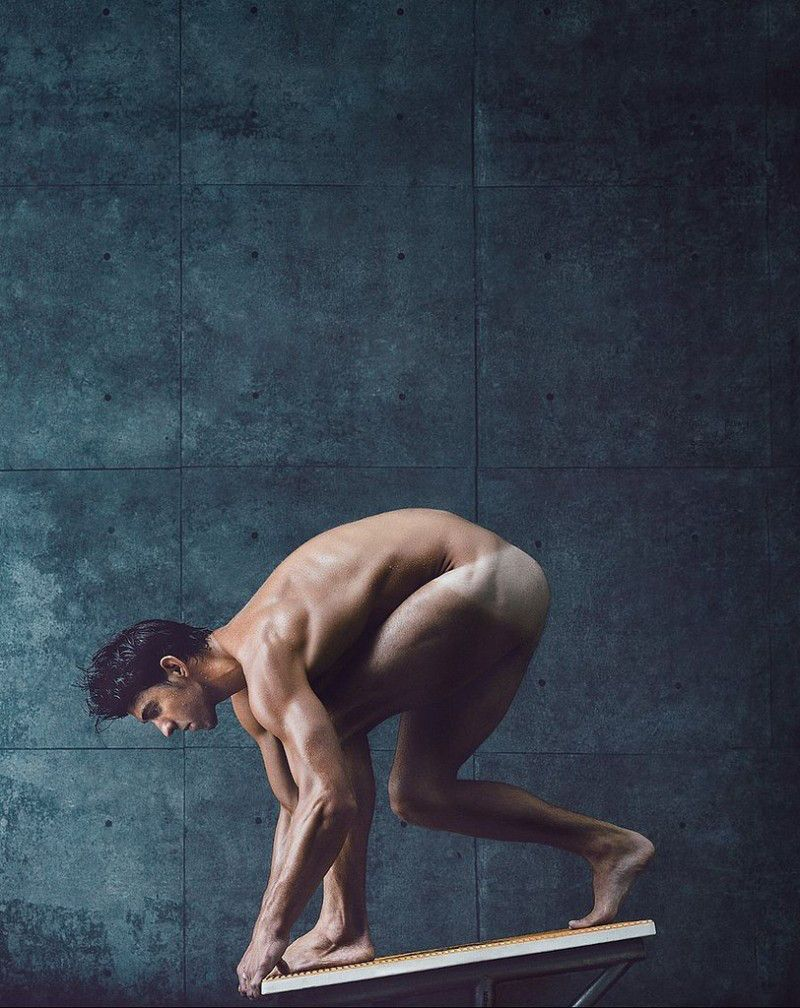 ESPN 2014 Body Issue   Michael phelps, ESPN and Soccer players