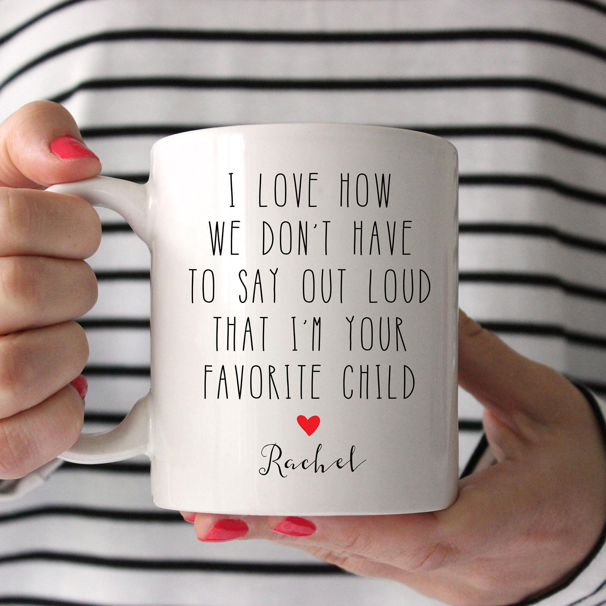 Fathers Day I Love How We Dont Have To Say Dad Mug