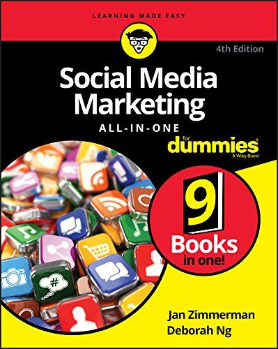 Social Media Marketing All In One For Dummies 4th Edition Pdf Download Free