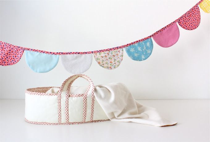 TUTORIAL: Scalloped Baby Bunting | MADE | American Girl Doll ideas ...