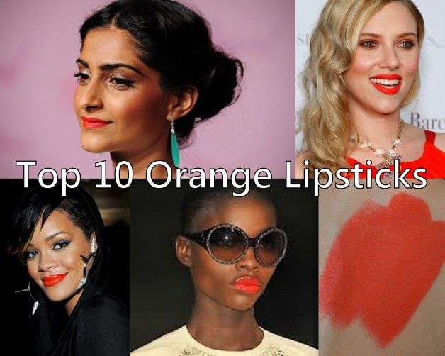 Top 10 Bright Bold And Neon Orange Lipsticks For Warm Indian Skin