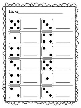 counting with dice school stuff eureka math math. Black Bedroom Furniture Sets. Home Design Ideas