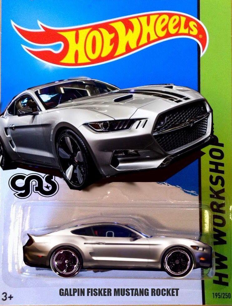 Hot Wheels Mustang Galpin Fisker Rocket This Is Nice Hot