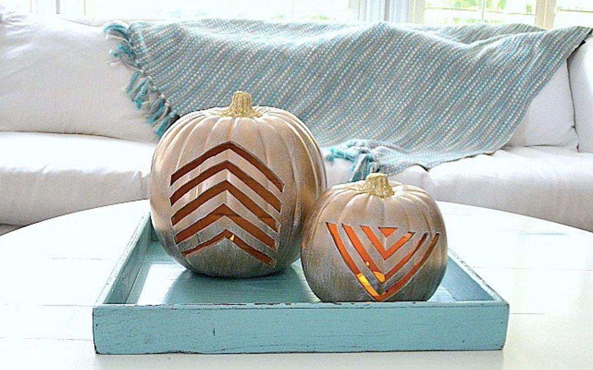 k rbis schnitzen 5 kreative ideen f r halloween deko trends 2019 pinterest k rbisse. Black Bedroom Furniture Sets. Home Design Ideas