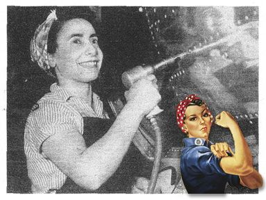 2010 : Geraldine Hoff Doyle, the Real-Life Model for We Can Do It Rosie the Riveter, Dies In Lansing
