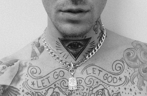 Jesse Rutherford tattoos