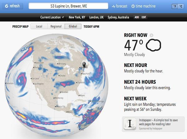 The Forecast API Bringing a New Day to #Weather #Data Weather