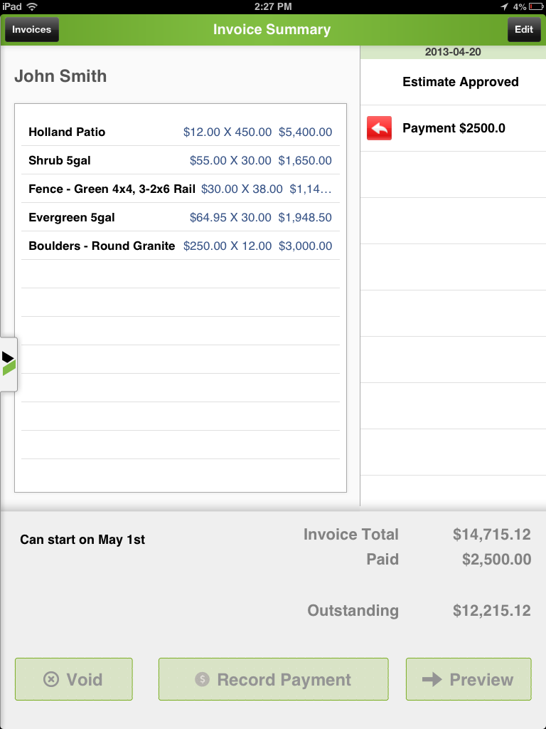 Create An Invoice On The Spot And Easily Manage On The Go Make - Joist invoice